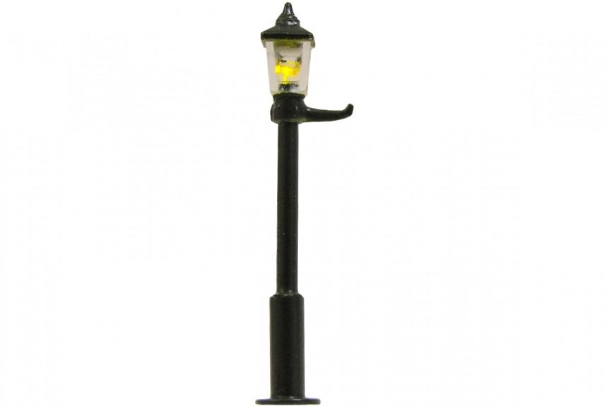 00 Gauge 1900s Gas Square Lens Street Lamp