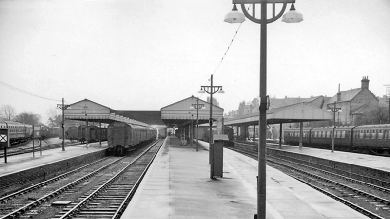 A brief history of railway street and station lighting