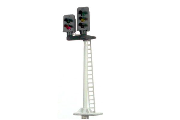 Dual Head Three and Two Aspect 00 Gauge Model Railway Colour Light Signal