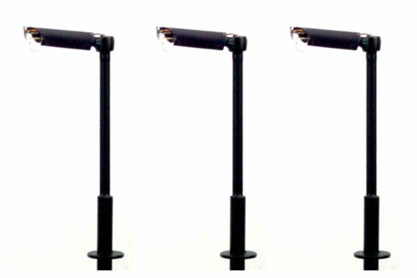 N Gauge Modern Small Straight Arm Street and Station Lamp