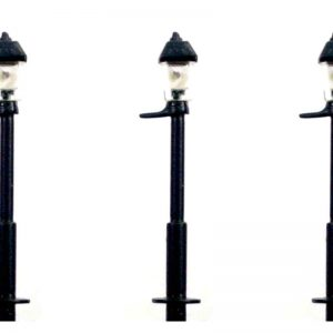 N Gauge 1930's Small Gas Street and Station Lamp