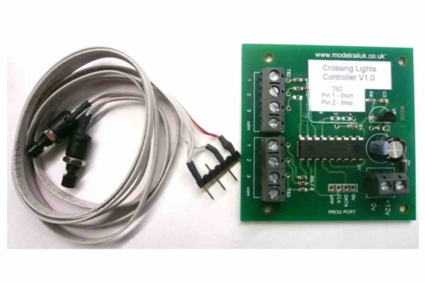12v D.C. Rail and Emergency Warning Lights Wig-Wag Controller PCB